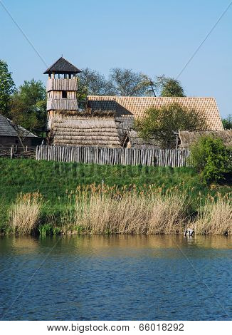 Archeoskanzen Blue - Great Moravian Fortified Settlement Near The Lake