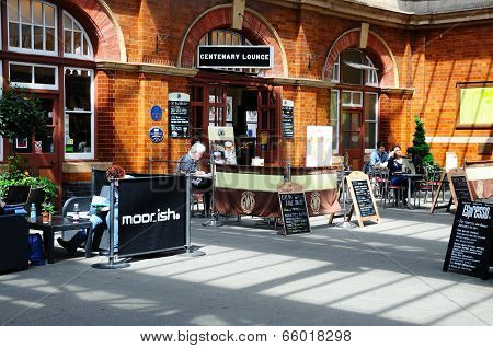 Cafe, Moor Street Railway Station.