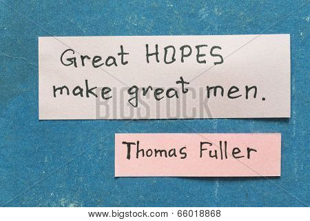 Great Hopes