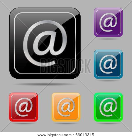 Set Buttons E-mail