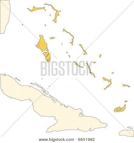 Bahamas, Islands