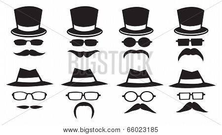 Hats And Moustaches