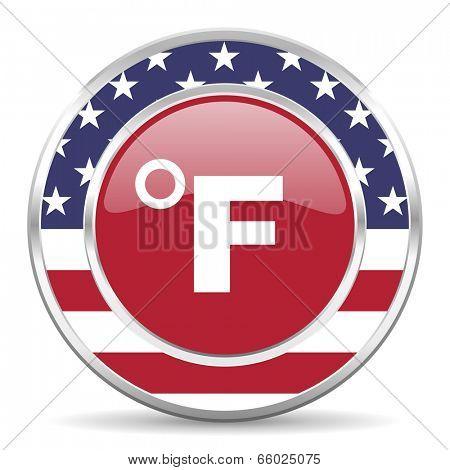 fahrenheit american icon, usa flag