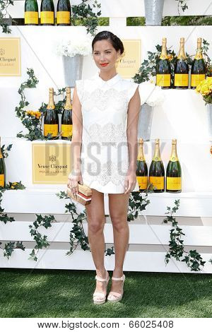 JERSEY CITY, NJ-MAY 31: Actress Olivia Munn attends the 7th Annual Veuve Cliquot Polo Classic at Liberty State Park on May 31, 2014 in Jersey City, NJ.