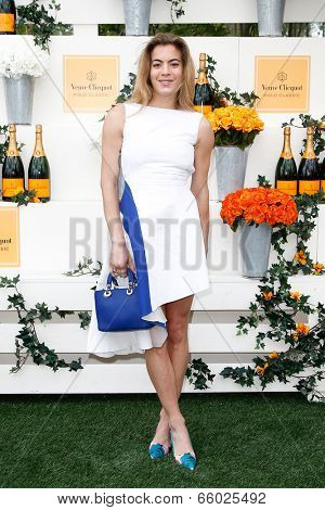 JERSEY CITY, NJ-MAY 31: DJ Chelsea Leyland attends the 7th Annual Veuve Cliquot Polo Classic at Liberty State Park on May 31, 2014 in Jersey City, NJ.