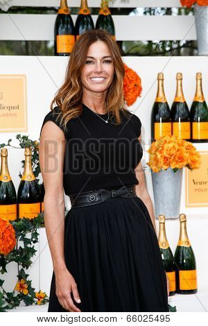 JERSEY CITY, NJ-MAY 31: TV personality Kelly Bensimon attends the 7th Annual Veuve Cliquot Polo Classic at Liberty State Park on May 31, 2014 in Jersey City, NJ.