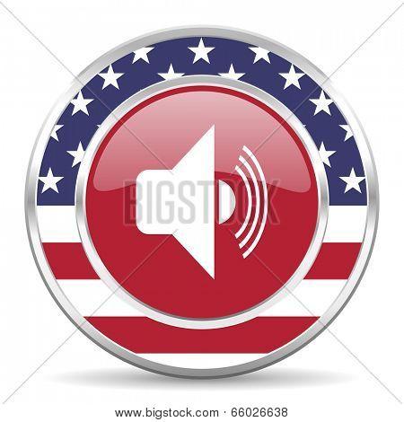 volume american icon, usa flag