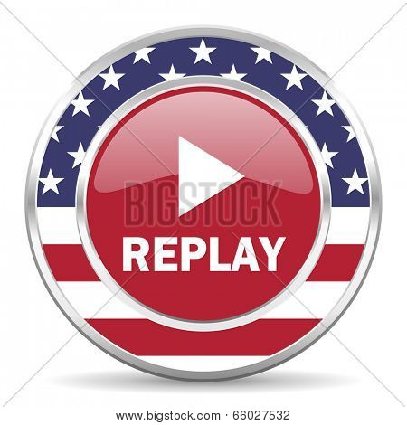 replay american icon, usa flag