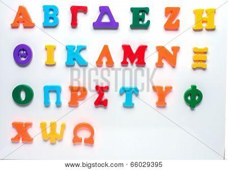 Greek Toy Alphabet