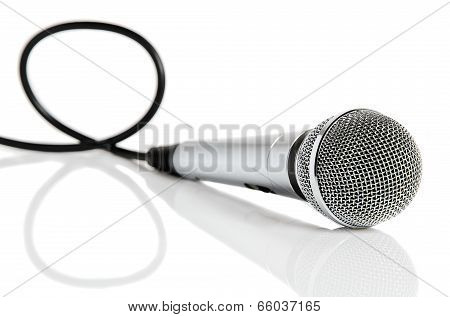 Microphone With Cable