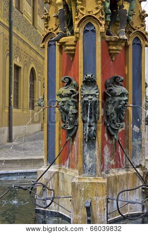 Medieval City Fountain