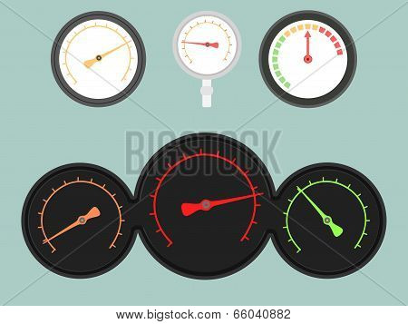 Set Of Gauges