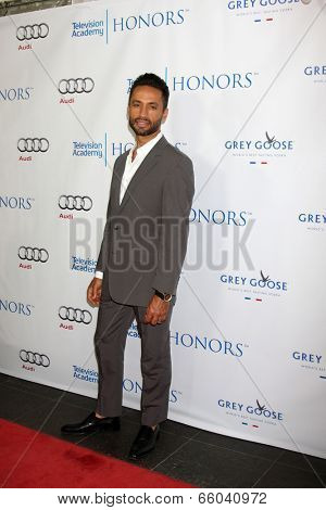 LOS ANGELES - JUN 1:  Kamar de los Reyes at the 7th Annual Television Academy Honors at SLS Hotel on June 1, 2014 in Los Angeles, CA