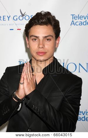 LOS ANGELES - JUN 1:  Jake T. Austin at the 7th Annual Television Academy Honors at SLS Hotel on June 1, 2014 in Los Angeles, CA