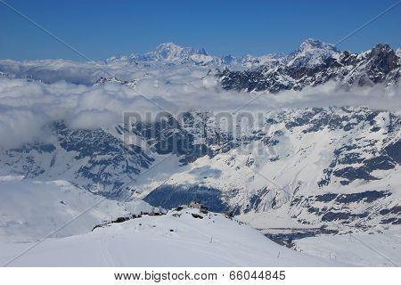 The Pennine Alps, Switzerland & Italy.