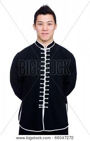 Chinese kung fu master