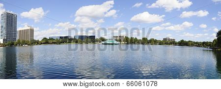Eola lake panorama