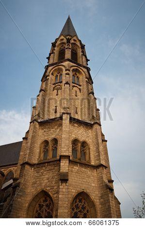 Holy Cross Church In Aachen, Germany.