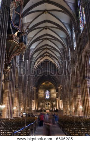 Strasbourg Cathedral Inside