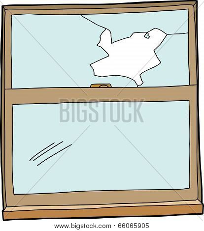 Broken Cartoon Window