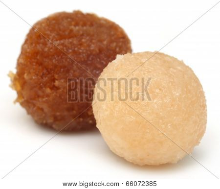 Traditional Coconut Laddu Of Southeast Asia