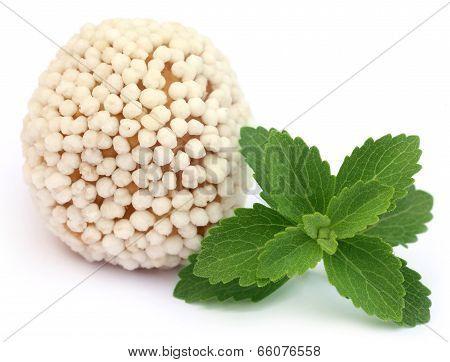 Bangladeshi Sweets With Green Stevia