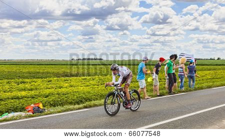 The Cyclist Sebastien Minard