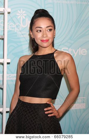 LOS ANGELES - MAY 30:  AImee Garcia at the Step Up's Inspiration Network Luncheon at Beverly Hilton on May 30, 2014 in Beverly Hills, CA