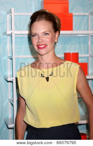 LOS ANGELES - MAY 30:  Sarah Jane Morris at the Step Up's Inspiration Network Luncheon at Beverly Hilton on May 30, 2014 in Beverly Hills, CA