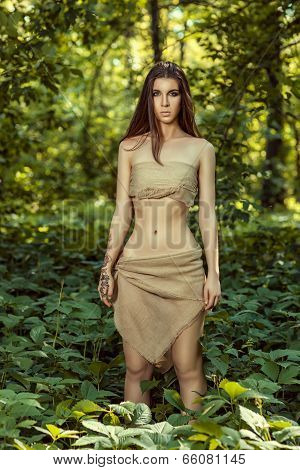 Wild Girl In The Woods.