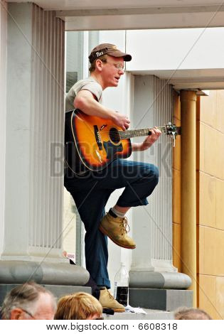Busker On High