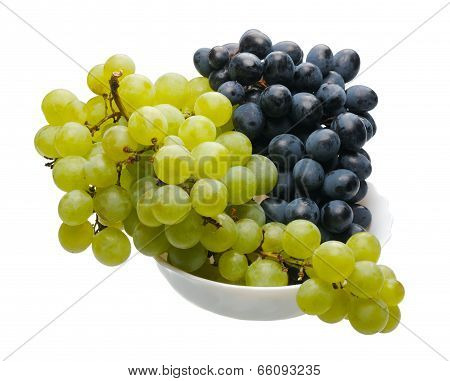 Black And Green Grapes