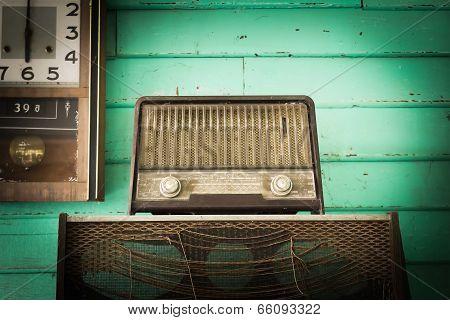 Vintage Radio Player