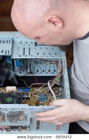 It Specialist Repairing Computer System Unit