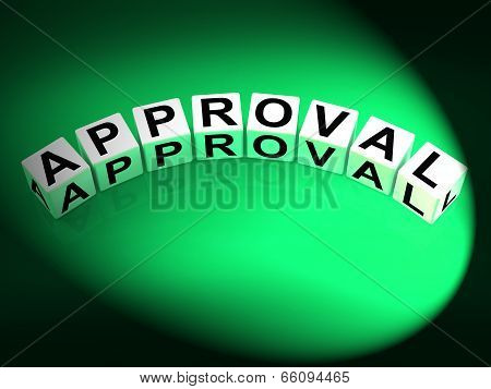 Approval Dice Show Validation Acceptance And Approved