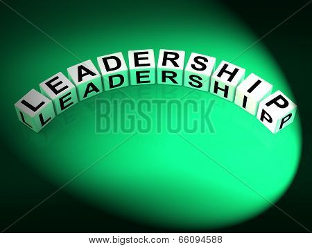 Leadership Letters Mean Guidance Influence And Management