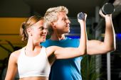 picture of weight-lifting  - Couple  - JPG