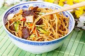 foto of chow  - Chow mein  - JPG