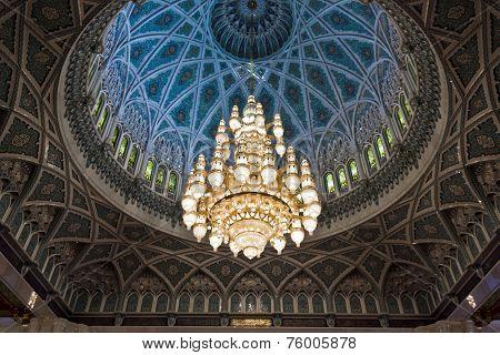Sultan Qaboos Grand Mosque, interior