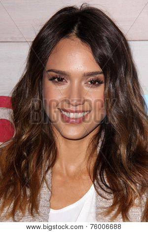 LOS ANGELES - NOV 12:  Jessica Alba at the TOMS for Target Holiday Partnership at the The Bookbindery on November 12, 2014 in Culver City, CA