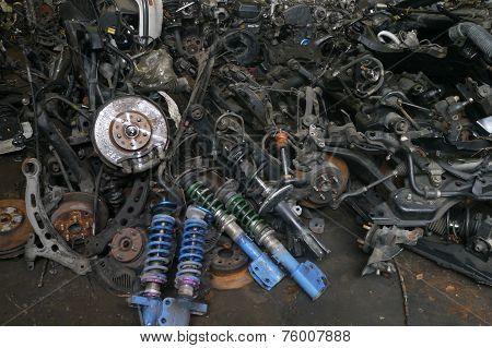 Used Vehicle Spare Parts, Second Hand