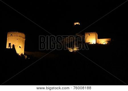 Muscat Fort By Night