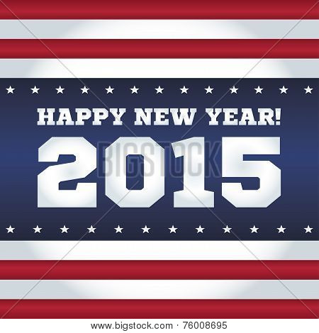 Happy New Year 2015. American style.