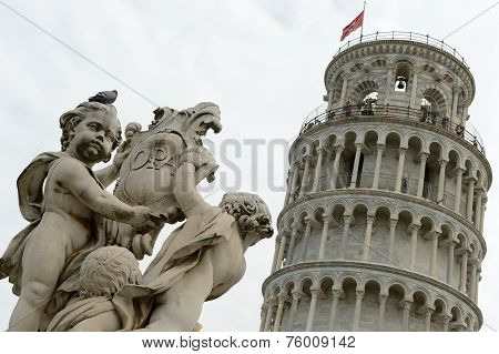 Pisa-leaning Tower