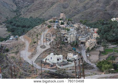 Balat Sayt Village, Oman.
