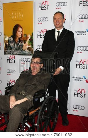 LOS ANGELES - NOV 12:  Richard Glatzer, Wash Westmoreland at the