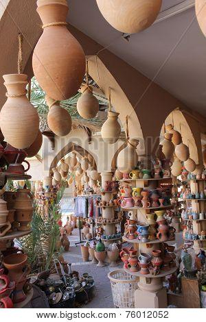 Typical Omani Souvenir Shop