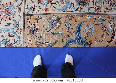 Sultan Qaboos Grand Mosque carpet