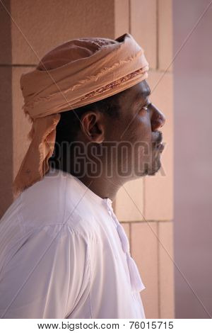 Mosque's Guardian, Oman