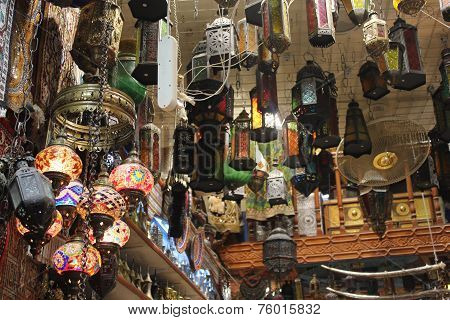 Omani Traditional Lamps Shop